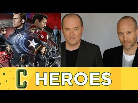 Captain America Civil War Screenwriters Christopher Markus and Stephen McFeely Interview (Spoilers)