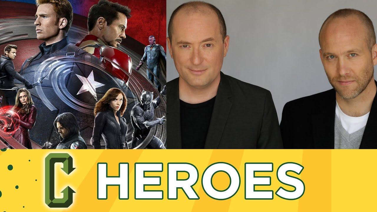 Captain America Civil War Screenwriters Christopher Markus ...