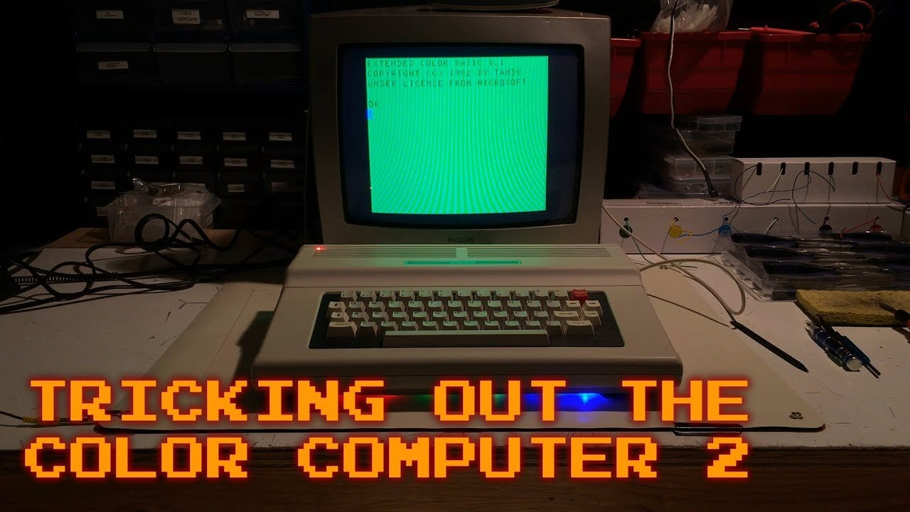 what is old is new again tricking out the color computer 2 youtube
