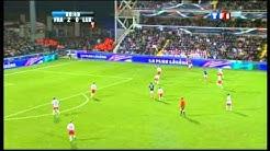 France-Luxembourg-La Marseillaise par le stade Saint-Symphorien  le 12 10 10