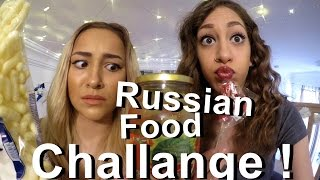 Russian Food Challange mit Maddy !   aMiRasWorldTv