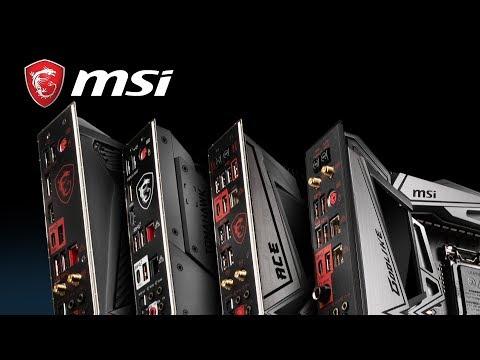 MSI MPG Intel Z390 GAMING EDGE AC WiFi 9th Gen ATX Motherboard
