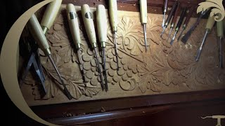 Woodcarving Mahogany Antique Doors