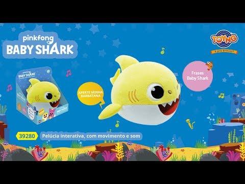 Baby Shark - Pelúcia Musical Interativa (REF 39280)