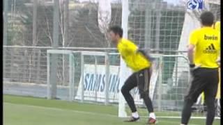 """Тренировка """"Реала"""" 20.03.2012"""