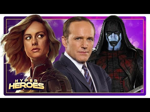Captain Marvel Will Resurrect Agent Coulson and Ronan the Accuser - Hyper Heroes