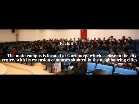 University of Gaziantep Top # 5 Facts