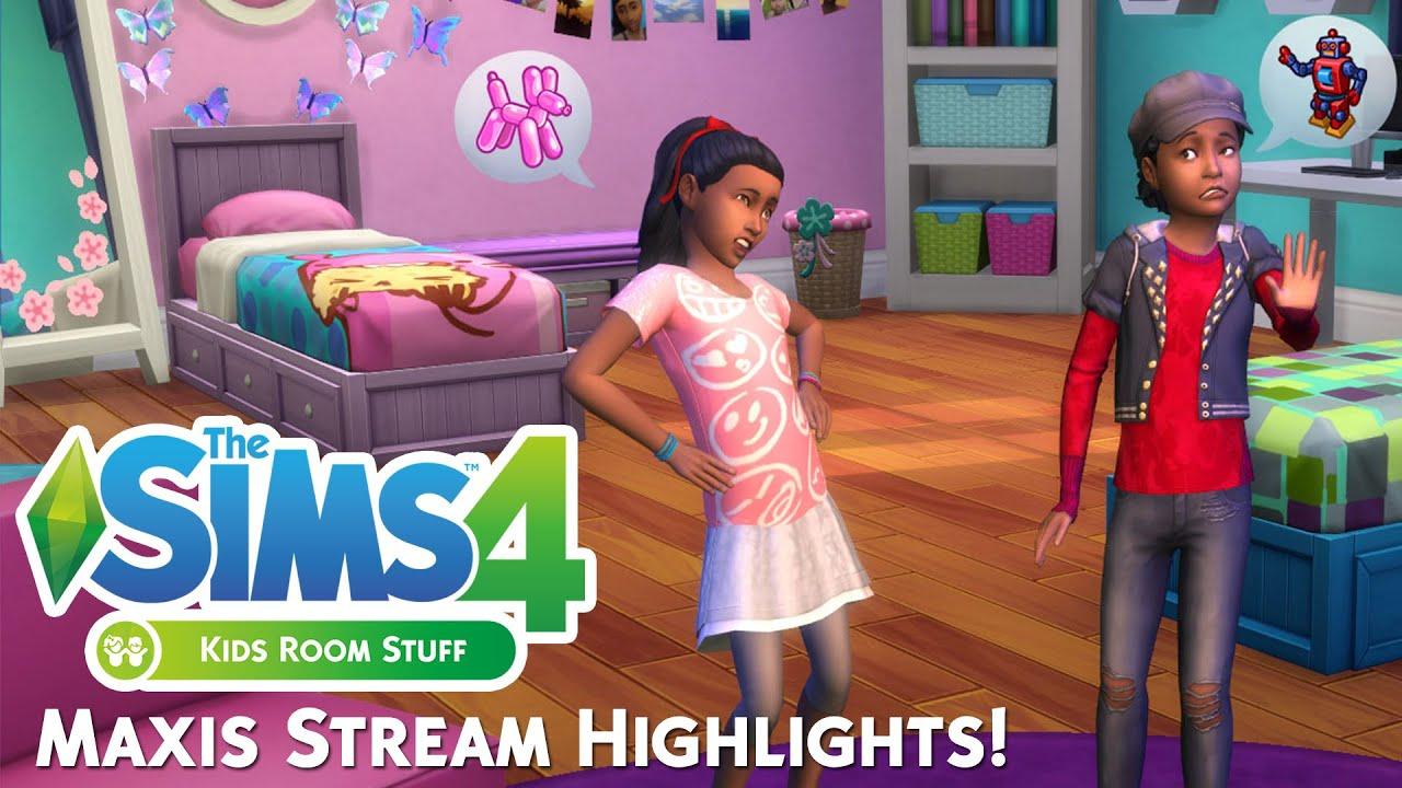 Sims  Kids Room Stuff Free