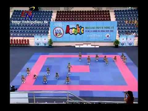 Http://nhipdieu.tk - thi đấu aerobic mẫu giáo - nhà thiếu nhi thành phố