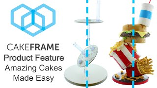 Build Gravity Defying Cakes With Cake Frame