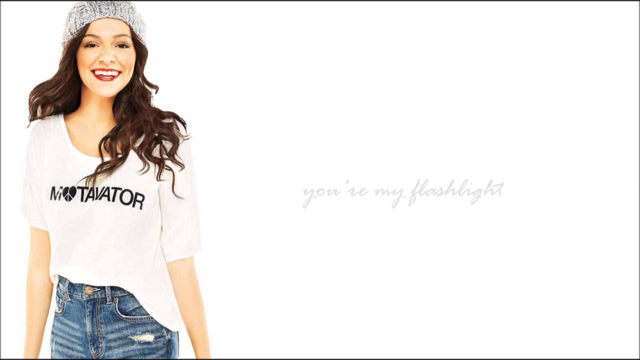Bethany Mota - ... Flashlight Lyrics Youtube