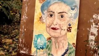 Старинные Часы - Antique Clock - Painting - Relax Music Video