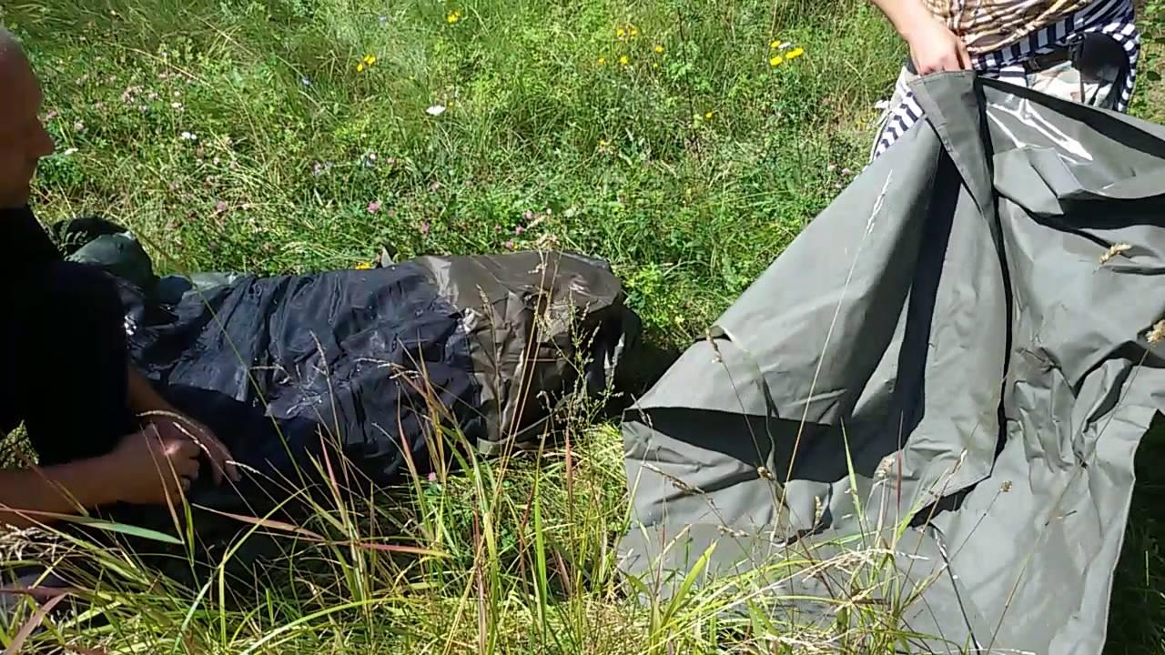 Обзор карповой палатки FOX Retreat+2MAN (русская озвучка .