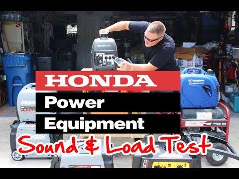 Honda EU2000i Decibel & Load Test, Testing Under Eco Mode & 1,500Watt Load  Voltage Drop & Noise Test