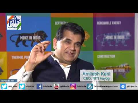 CEO, NITI Aayog, Amitabh Kant speaks on India's position in World Bank's Doing Business rankings