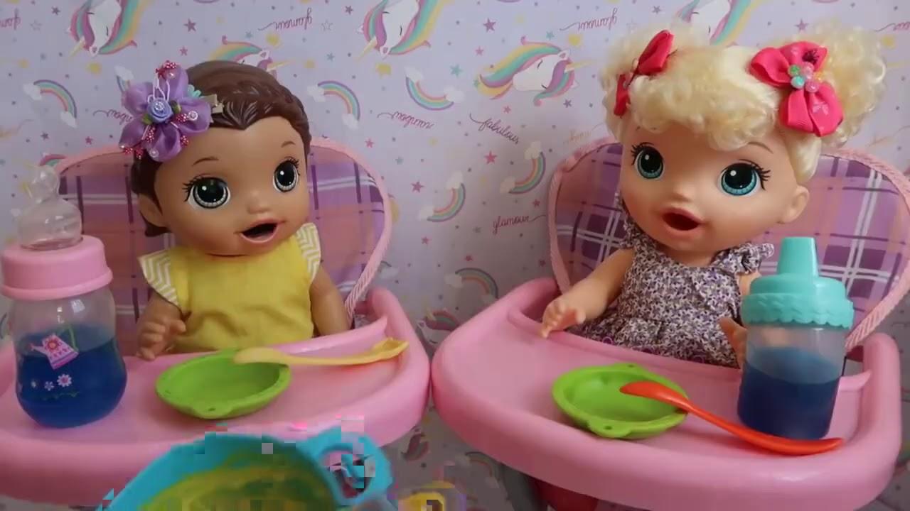 COMIDINHA PARA BONECAS BABY ALIVE AMANDINHA