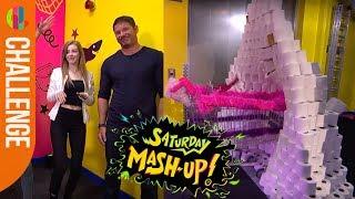 Push Off Challenge ft. Amelia Gething | Saturday Mash-Up!