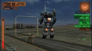 Armored Core Silent Line - Hard Mode Walkthrough #1