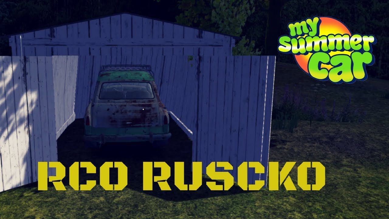 Rco Ruscko Car Location How To Steal Tutorial My Summer Car