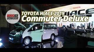 Toyota HiAce Commuter Deluxe 2019 (Official)