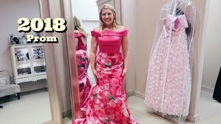 PROM DRESS SHOPPING!! SHERRI HILL DRESSES!! // Bailey Uhler