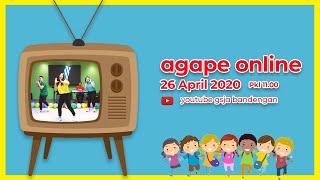Gambar cover Ibadah Online AGAPE GSJA Bandengan 26 April 2020