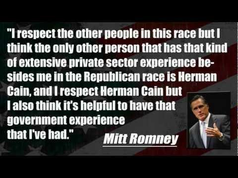 Mitt Romney Vs Rick Perry - Presidential Candidates Trade Jabs