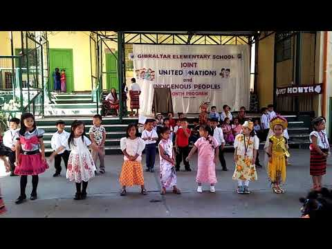 United Nations at Gibraltar Elementary School Baguio City 2018