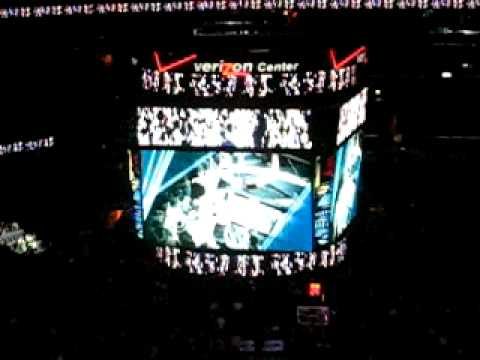 Washington Wizards 2008-2009 Player Intros - Part 1