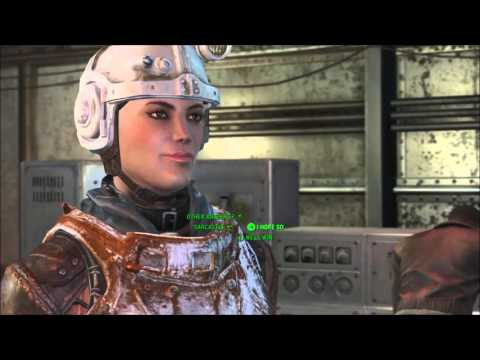 A Vulcan in Fallout 4 (Tim Russ voices Captain kells)