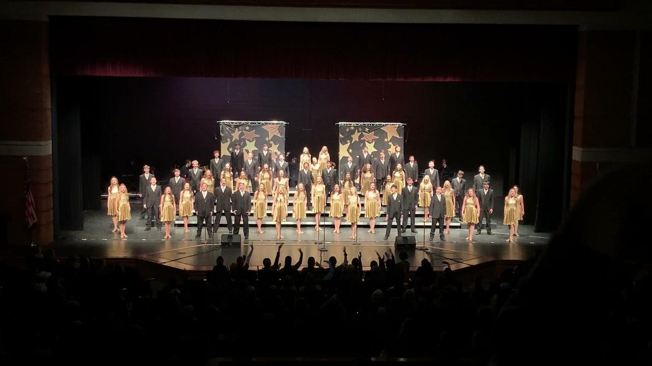 Knight Sensations 2020 Night Finals performance at Plainfield