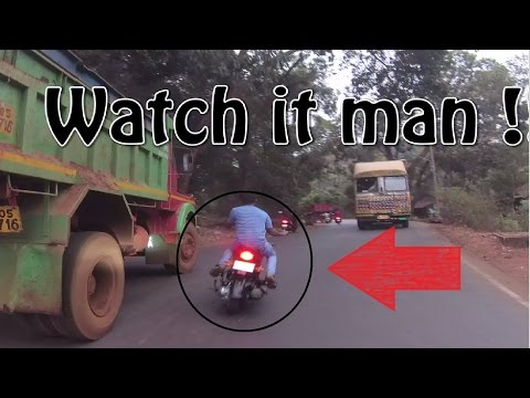 Goa to Surat | Bike rentals in Goa | Lamborghini Gallardo | Accident on Goa road (part _03)