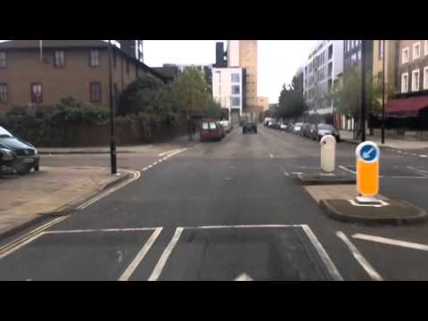Driving in East London - Daytime