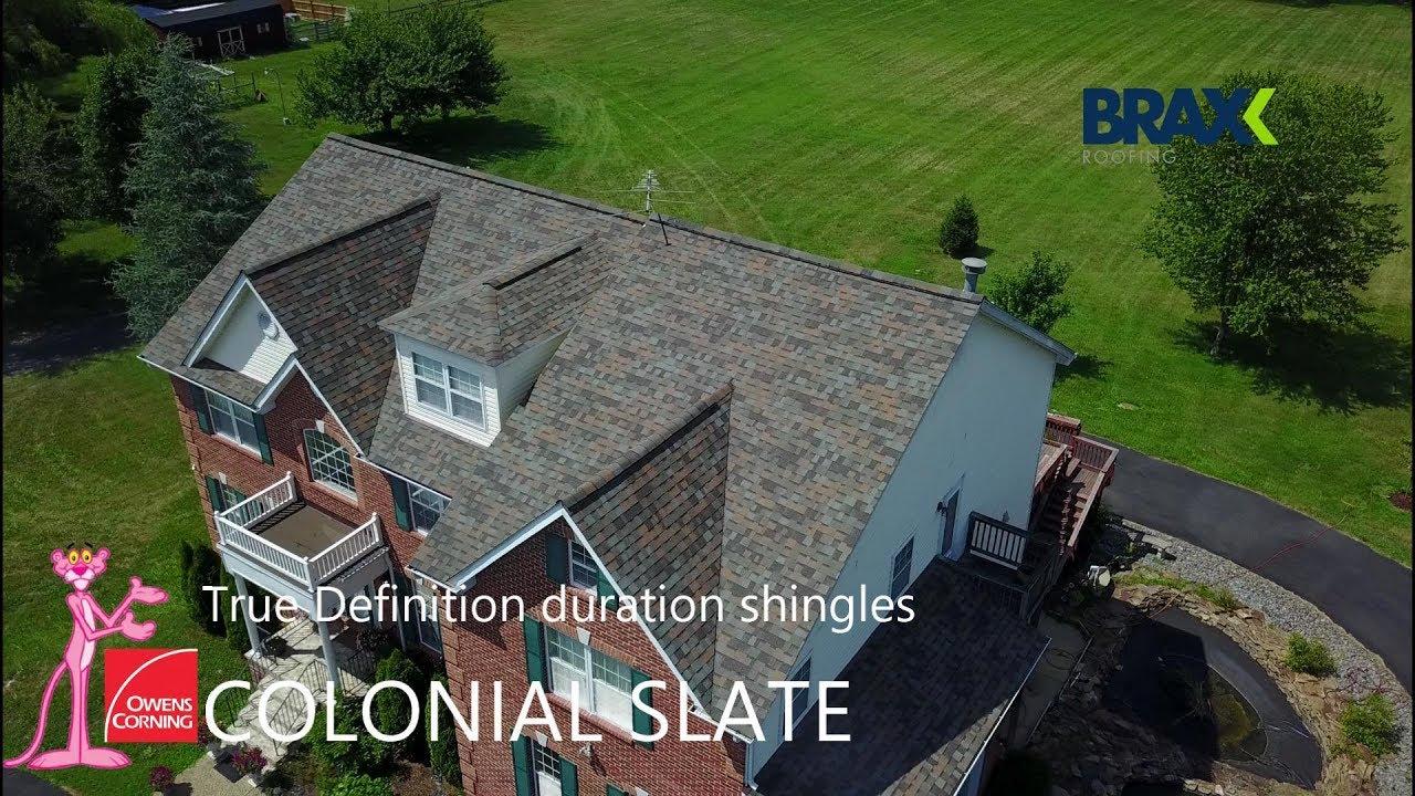 Owens Corning True Definition Duration Colonial Slate