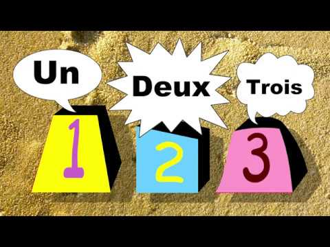 French Lesson For Kids - French In The Park - Un, Deux, Trois