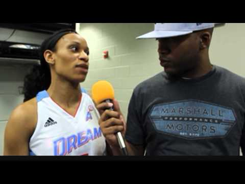 Atlanta Dream Jasmine Thomas Interview By DJ Romeo International_6.3.14