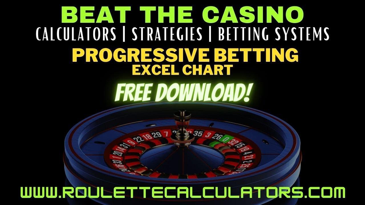 Roulette progressive betting 3 million dollar bet on alabama game live stream