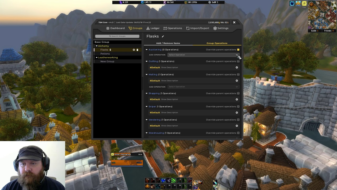 TSM 4 How To Create Groups, Posting Operations, Import, and Export - Gold  Making Addon