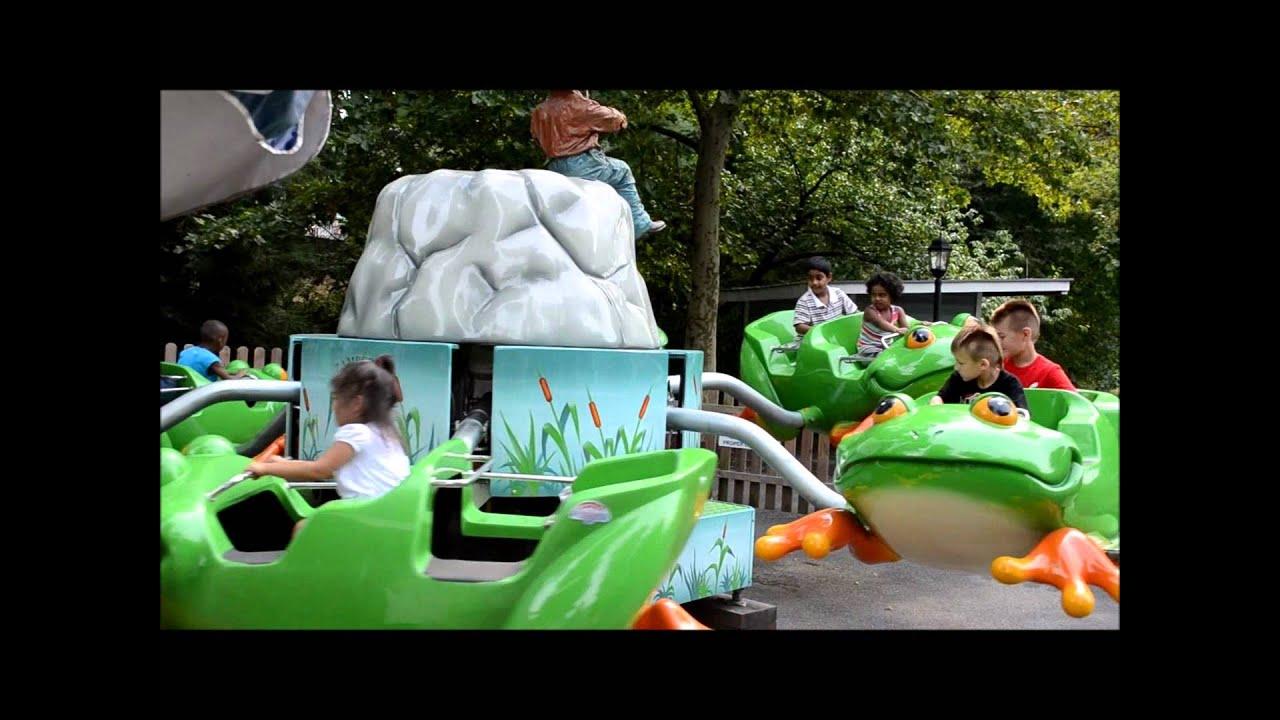 Dutch Wonderland Ride Showcase: Huck Finn's Leapin Frogs ...