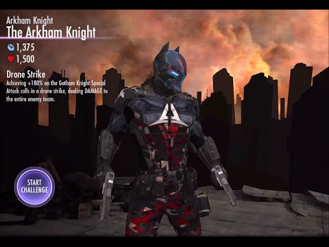 Injustice Gods Among Us iOS - Arkham Knight The Arkham Knight Challenge Full Standard Difficulty