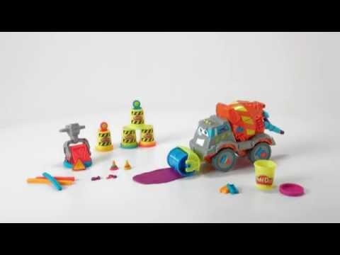 Play-Doh South Africa   Max The Cement Mixer Play set - Product Demo[BB]