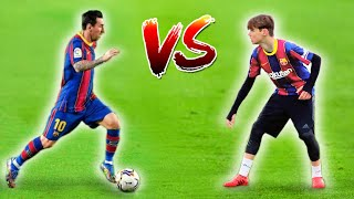 Game of T.R.I.C.K vs MESSI!!