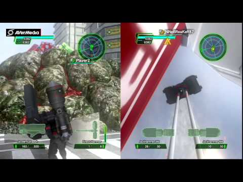 Earth Defense Force 2025 - Best Fencer Armor Farming Method - DLC Pack 3 Stage#2