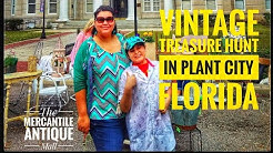 Vintage Treasure Hunt in Plant City Florida- The Mercantile Antique Mall