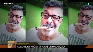 Alexandre Frota rebate Claudia Raia: