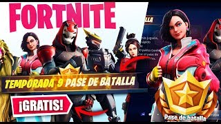 HOW TO GET BATTLE PASS 9 *FREE* SEASON 9 **SORTEO** FORTNITE BATTLE ROYALE