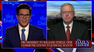 Chris Farrell of Judicial Watch on the Post--Mueller Investigation & Steele Dossier