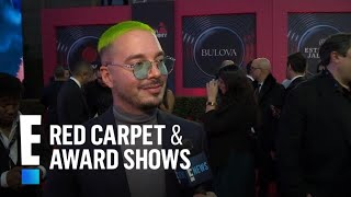 j-balvin-wants-to-collab-with-drake-post-malone-more-e-red-carpet-award-shows