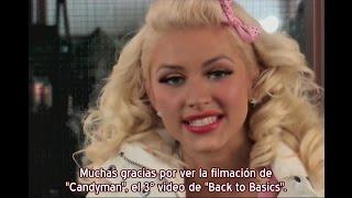 """Christina Aguilera - Especial Making of video """"Candyman"""" - Parte 2 HD (Subtítulos español)"""