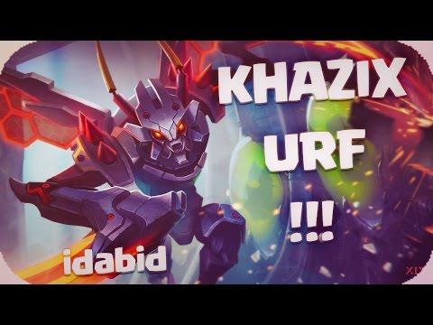 URF KHAZIX 438 AD LEAGUE OF LEGENDS español